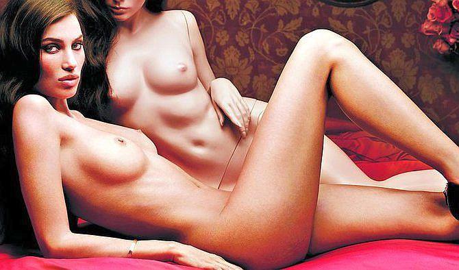 Supermodelul Alina Puscau, goala in Conan Barbarul