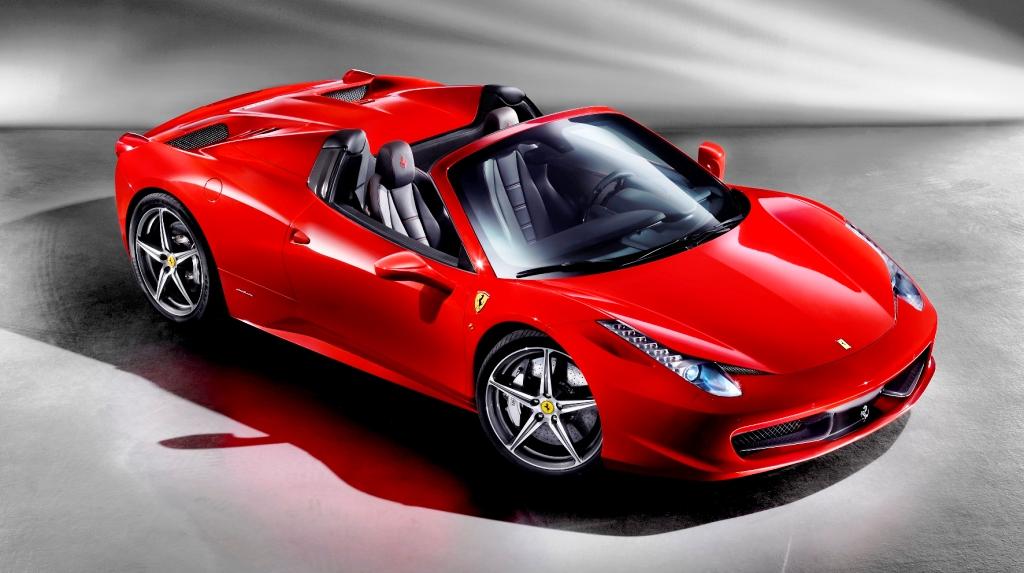 Ferrari 458 Spider a fost prezentat oficial astazi si in Romania