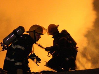 Incendiu la un centru de copii din sectorul 6