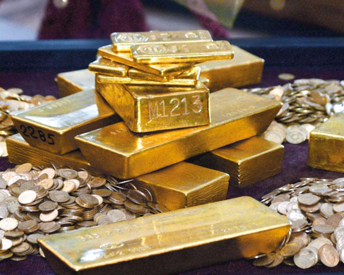Aurul atinge un nou maxim