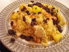 Couscous algerian de pui