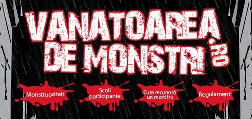 Vanatoarea de monstri - campanie de incurajarea a colectarii DEEE