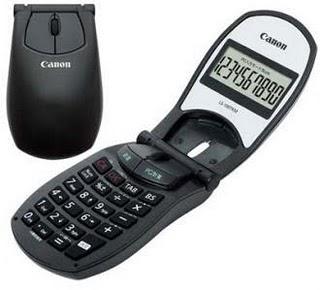 NOU! Mouse cu calculator de la Canon