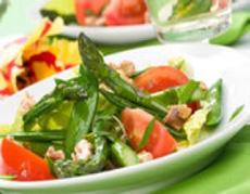 Salata de pastai de mazare cu ochiuri