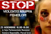 STOP violentei asupra femeilor!