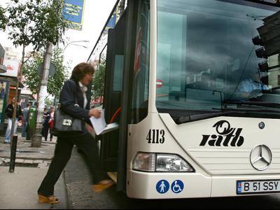 RATB nu mai asigura transport public in judetul Ilfov