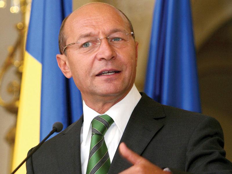 Basescu: Imi pare rau ca sunt presedinte