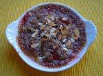 Chutney de rubarba (sos-garnitura)