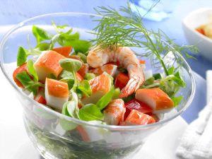 Salata de fructe de mare (Salpicon de marisco)